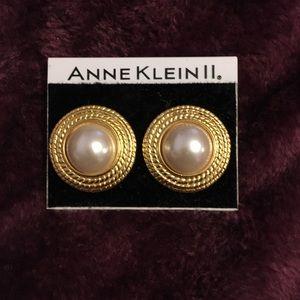 Anne Klein Clip-on Earrings